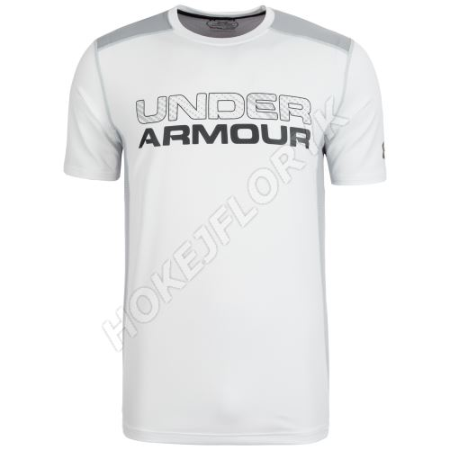 Pánske tričko Under Armour Raid Graphic Biele XS