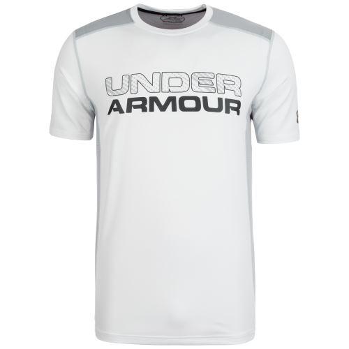 Pánské triko Under Armour Raid Graphic Bílé