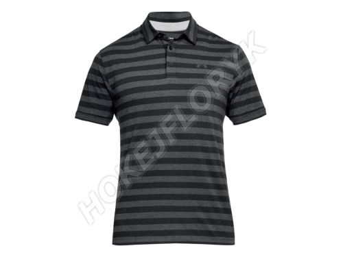 Pánské triko Under Armour CC Scramble Stripe POLO 001