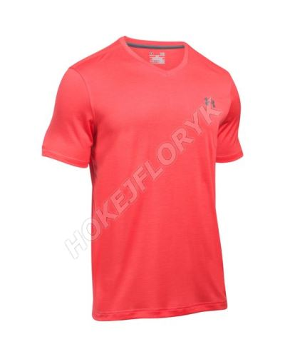 Pánské triko Under Armour Tech V-NECK Signální oranžová L