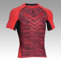 Pánske kompresné tričko Under Armour ARMOUR Twist Flight Signálna oranžová
