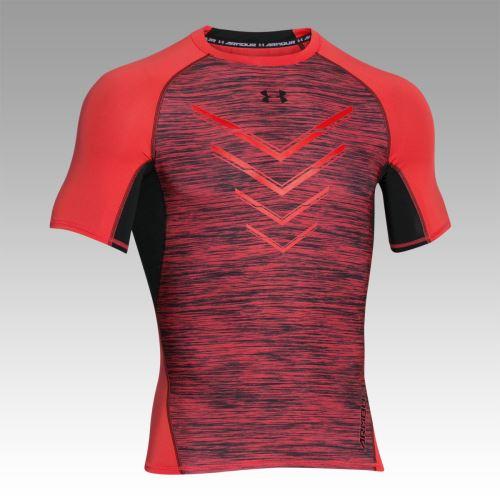 Pánske kompresné tričko Under Armour ARMOUR Twist Flight Signálna oranžová XS