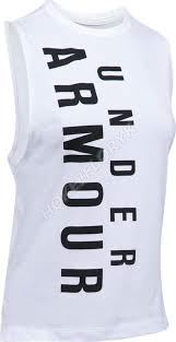 Dámské tričko Under Armour Exploded Wordmark Muscle 100 XS