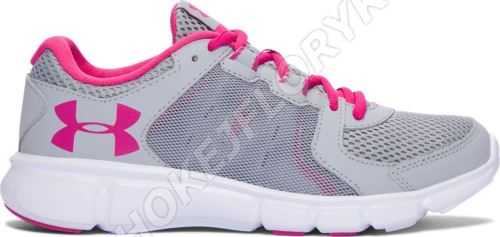 Dámske bežecké topánky Under Armour Thrill 2 Šedo / ružové