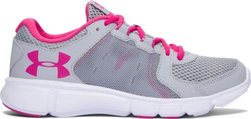 Dámske bežecké topánky Under Armour Thrill 2 Šedo / ružové 6 (EUR 36.5)