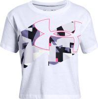 Detské tričko Under Armour Print Fill Logo 100