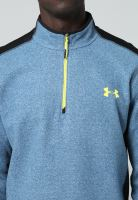 Pánská mikina Under Armour ColdGear INFRARED Performance 1/4 Zip Sv.modrá