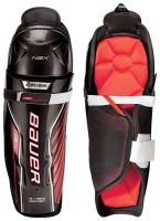 Juniorské holene BAUER S18 NSX SHIN GUARD - JR