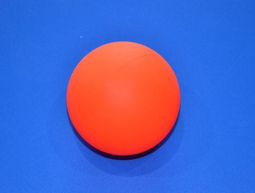 Míček na hokejbal, plastový oranžový