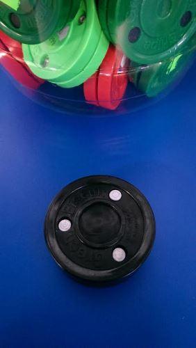 Puk na trénink stickhandlingu a přihrávek - Green Biscuit BLACK