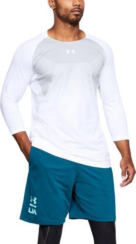 Pánske tričko Under Armour Threadborne Vanish 3/4 rukáv 100