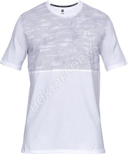 Pánske tričko Under Armour Sportstyle Cotton Mesh 100