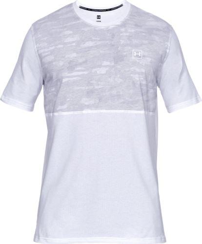 Pánské triko Under Armour Sportstyle Cotton Mesh 100