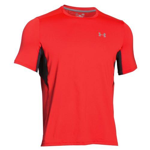 Pánské triko Under Armour Coolswitch RUN Signální oranžová