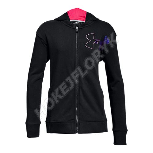 Dětská mikina Under Armour Threadborne Terry Full Zip 001