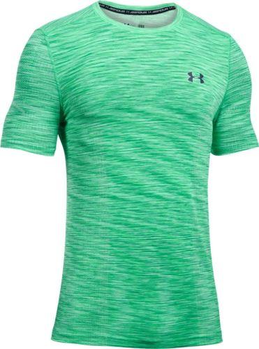 Pánske tričko Under Armour Threadborne Seamless Zelené