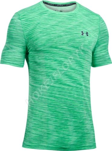 Pánské triko Under Armour Threadborne Seamless Zelené