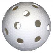 Florbalový míček MERCO Dimple - bílý