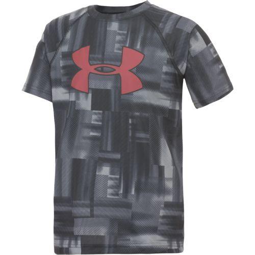 Detské tričko Under Armour Big Logo Print tm.šedá S