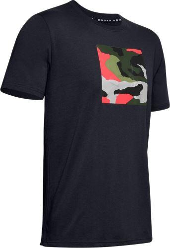 Pánske tričko Under Armour Unstoppable Camo 001