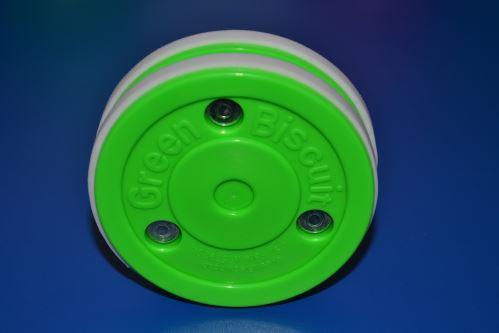 Puk na tréning stickhandling a prihrávok - Green Biscuit Pass PRO