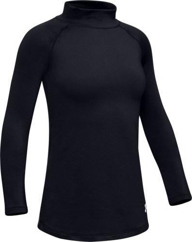 Dievčenské tričko Under Armour ColdGear LS Mock 001