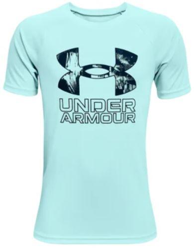 Dětské tričko Under Armour Tech Hybrid Prt Fill 441