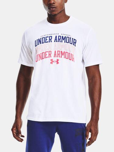 Pánské triko Under Armour Multi Color Collegiate SS 100