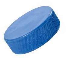 Hokejový puk Junior odlehčený (modrý)