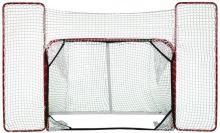 Hokejová branka Merco TARGET skládací s postranní sítí 72