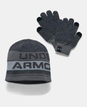 Detský set Under Armour Combo - čiapka + rukavice 001