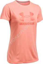Dámské tričko Under Armour Threadborne Train Sport SSC TW Oranžové 404