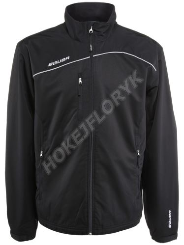 Bunda BAUER Lightweight Warm Up Jacket Sr, červená, XXL