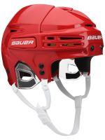 Seniorská hokejová helma BAUER RE-AKT 75 - RED (1047938),červená, L