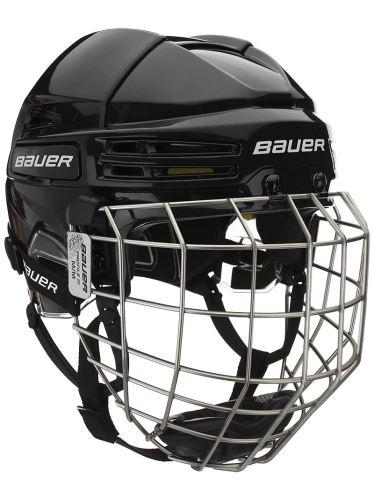 Seniorská hokejová helma BAUER RE-AKT 75 Combo BLK