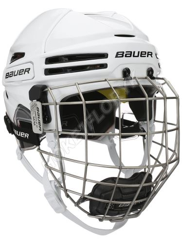 Seniorská hokejová helma RE-AKT 75 Combo - WHT